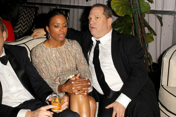 Aisha Tyler The Weinstein Company and Netflix Golden Globes Party