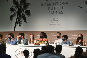 """Aissa Maiga Cyril Dion """"Cinema For The Climate"""" Press Conference - The 74th Annual Cannes Film Festival"""