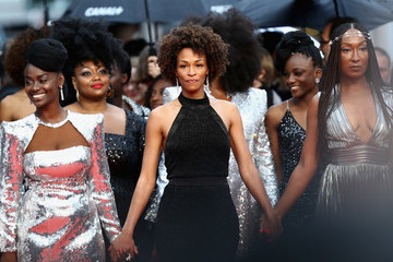 Aissa Maiga 'Burning (Beoning)' Red Carpet Arrivals - The 71st Annual Cannes Film Festival