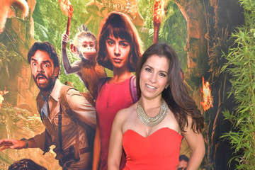 Aitana Derbez L.A. Premiere Of Paramount Pictures' 'Dora And The Lost City Of Gold' - Red Carpet