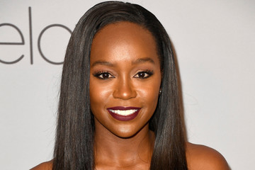 Aja Naomi King Warner Bros. Pictures And InStyle Host 19th Annual Post-Golden Globes Party - Arrivals