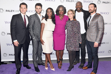 Aja Naomi King Jack Falahee PaleyLive NY: 'How to Get Away with Murder'