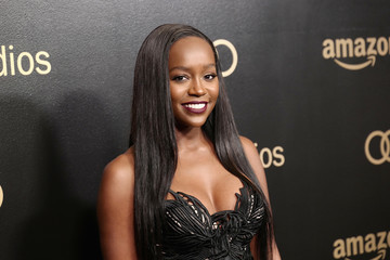 Aja Naomi King Amazon Studios Golden Globes Celebration - Arrivals