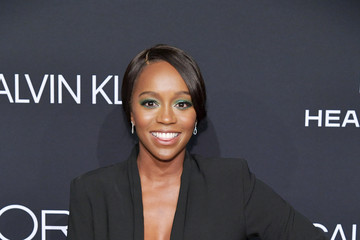 Aja Naomi King ELLE's 25th Annual Women In Hollywood Celebration Presented By L'Oreal Paris, Hearts On Fire And CALVIN KLEIN - Red Carpet