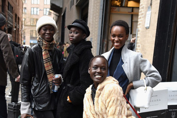 Ajak Deng IMG NYFW: The Shows 2019 PARTNERS - February 8