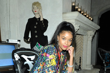 Ajiona Alexus Farfetch and William Vintage Celebrate Gianni Versace Archive hosted by Elizabeth Stewart and William Banks-Blaney