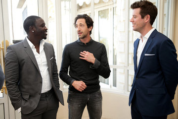 Akon Ben Lyons Interviews Adrien Brody And Akon At The Stella Artois and Glacier Films Event - 67th Annual Cannes Film Festival