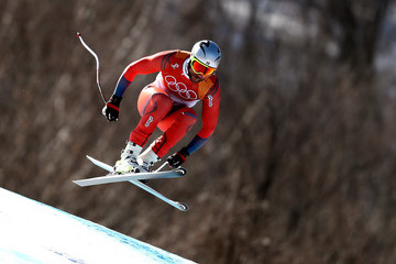 Aksel Lund Svindal Alpine Skiing: Men's Downhill - Winter Olympics Day 6