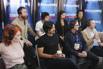 Al Gough Miles Millar SiriusXM's Entertainment Weekly Radio Channel Broadcasts from Comic-Con 2015