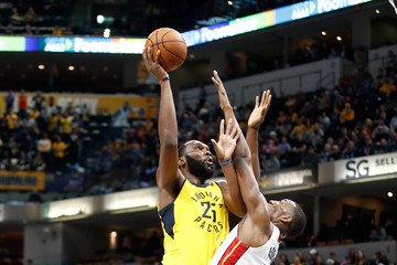 Al Jefferson Miami Heat v Indiana Pacers