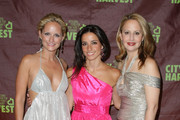 "(L-R) Heather Mnuchin, Shoshanna Gruss and Nina Rennert Davidson attend City Harvest's 16th annual ""An Evening Of Practical Magic"" at Cipriani 42nd Street on April 14, 2010 in New York City."