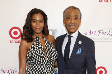 Al Sharpton Aisha McShaw 15th Annual Art For Life Gala Hosted by Russell and Danny Simmons - Arrivals