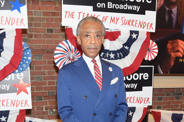Al Sharpton Award-Winning Filmmaker Michael Mayer Celebrates His Broadway Opening Night in 'The Terms of My Surrender'