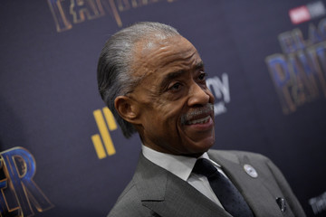 Al Sharpton The Cinema Society Hosts a Screening of Marvel Studios' 'Black Panther'
