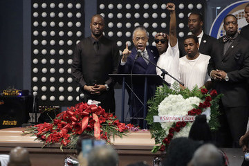 Al Sharpton Funeral Services Held For Unarmed Man Killed By Sacramento Police