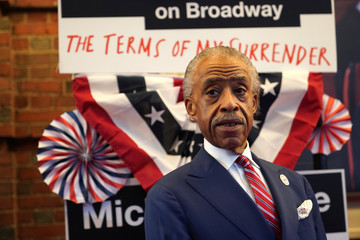 Al Sharpton 'The Terms of My Surrender' Broadway Opening Night - Arrivals & Curtain Call