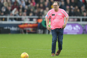 Alan Carr Celebrity Charity Match At Northampton Town Football Club