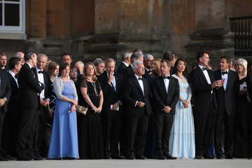 Alan Duncan Arrival Ceremony At Blenheim Palace For President Donald Trump And The First Lady
