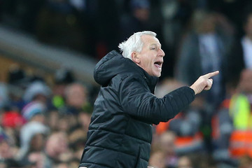 Alan Pardew Liverpool v West Bromwich Albion - The Emirates FA Cup Fourth Round