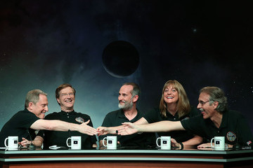 Alan Stern NASA Holds Media Briefing For the New Horizons' Pluto Fly-By