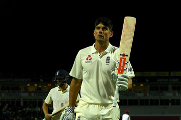 Alastair Cook England v West Indies - 1st Investec Test: Day One