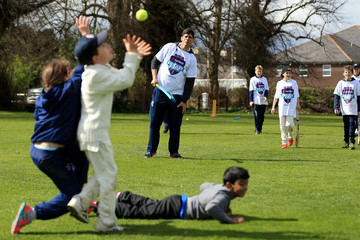 Alastair Cook NatWest CricketForce Event at Copdock CC