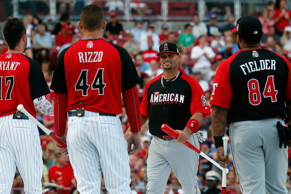Pujols home run derby pictures.