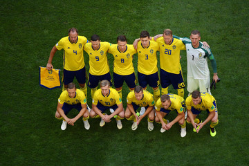 Albin Ekdal Emil Forsberg Sweden vs. England: Quarter Final - 2018 FIFA World Cup Russia