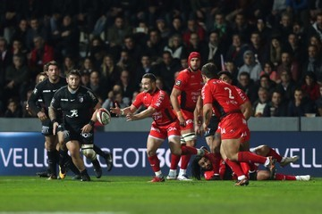 Alby Mathewson Toulouse v Toulon - Top 14