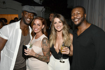 Aldis Hodge David and Victoria Beckham and Eva Longoria Host the Grand Opening of the New Ken Paves Salon