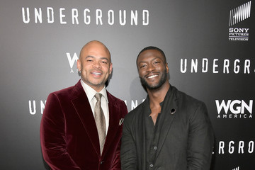 Aldis Hodge WGN America's 'Underground' Season Two Premiere Screening