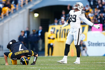 Aldon Smith Oakland Raiders v Pittsburgh Steelers