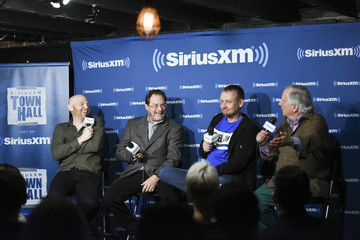 Alec Berg Comedian Bill Burr Hosts A SiriusXM Headliners Avent With The Cast Of 'Barry'