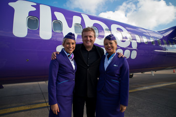 Aled Jones Aled Jones Launches His New Album On Board New FlyBe Route London City To Cardiff