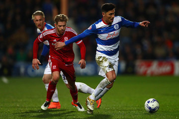 Alejandro Faurlin Queens Park Rangers v Middlesbrough - Sky Bet Championship