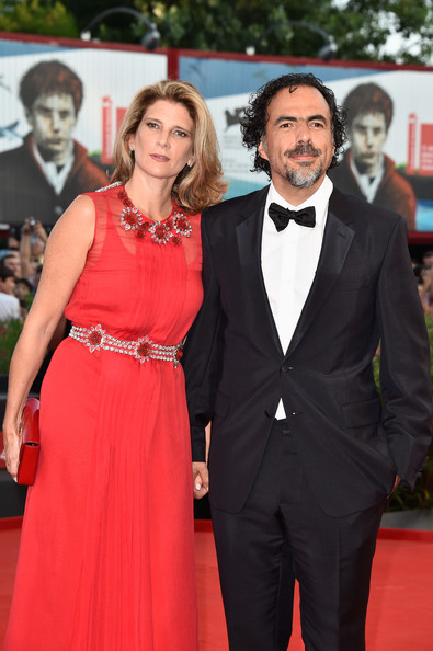 Alejandro González Ińárritu with cool, beautiful, Wife María Eladia Hagerman