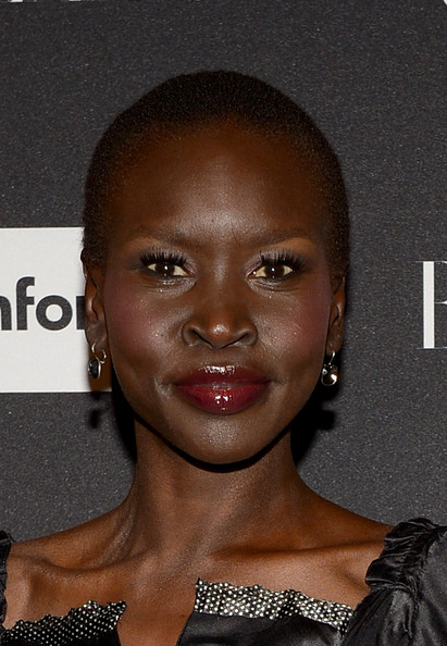 Alek Wek Model Alek Wek attends Samsung GALAXY At Harper's BAZAAR ...