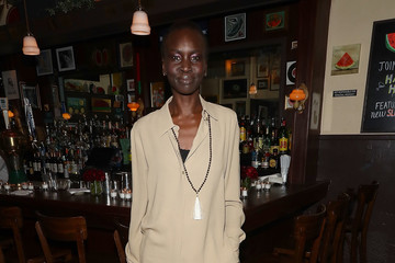 Alek Wek Michael Kors Celebrates David Downton Collaboration With Dinner in New York City