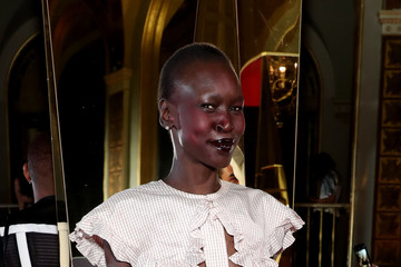 Alek Wek Harper's BAZAAR Celebrates 'ICONS' By Carine Roitfeld At The Plaza Hotel