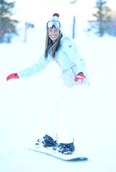 Alessandra Ambrosio - Oakley Learn To Ride In Collaboration With New Era - Day 2 - 2013 Park City