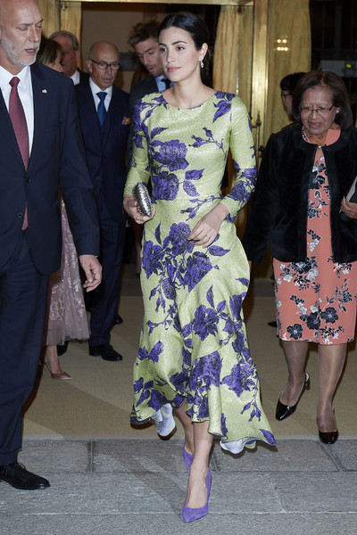 Peruvian President Host A Reception For Spanish Royals