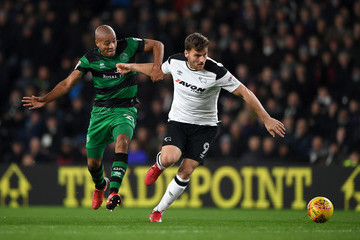 Alex Baptiste Derby County v Queens Park Rangers - Sky Bet Championship