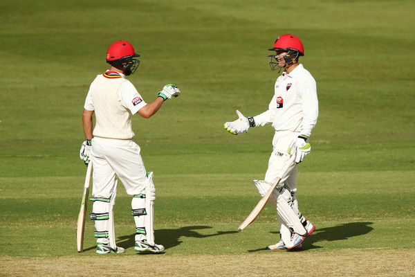 Sheffield Shield - SA v VIC []