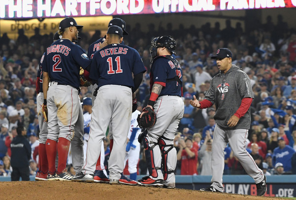 8f7a73be2ab Alex Cora Photos Photos - World Series - Boston Red Sox v Los ...