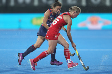Alex Danson USA vs. England - FIH Womens Hockey World Cup