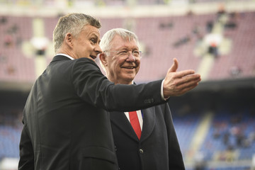 Alex Ferguson FC Barcelona v Manchester United - UEFA Champions League Quarter Final: Second Leg