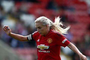 Alex Greenwood Manchester United Women vs. Reading - FA WSL Continental Tyres Cup