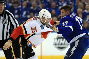 Alex Killorn Calgary Flames v Tampa Bay Lightning
