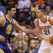 Alex Len Golden State Warriors v Phoenix Suns
