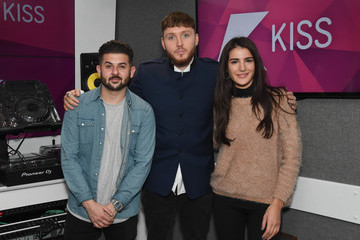 Alex Mansuroglu James Arthur Visits KISS FM